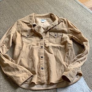 Courdoroy button down